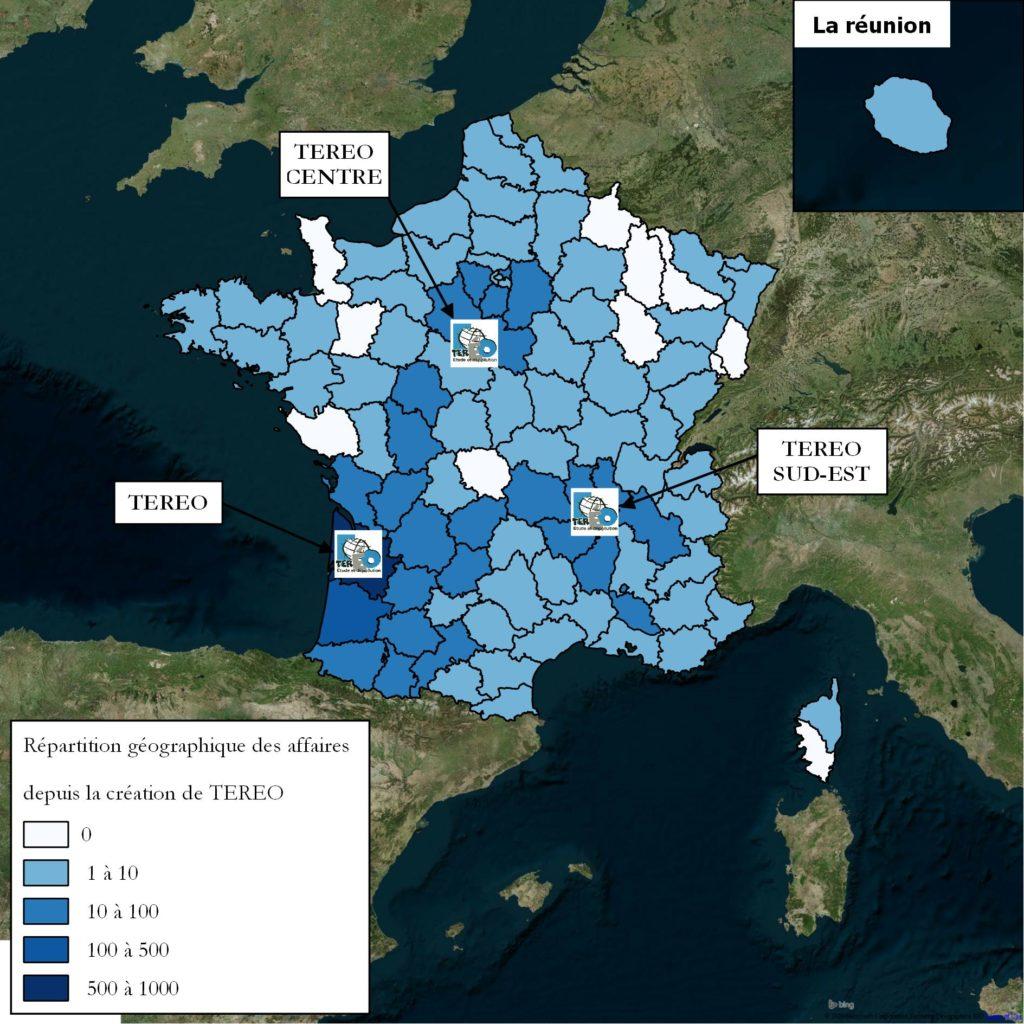 Diagnostic de pollution Bordeaux, Orléan, Saint Etienne